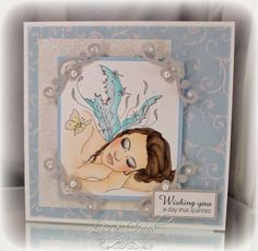 Fairy Slumber by busysewin - Cards and Paper Crafts at Splitcoaststampers