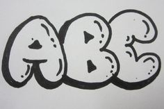 http://www.overnightartist.com How To Draw Capital Bubble Letters: http://youtu.be/KEAOx7kGG8E How To Draw Lower Case Bubble Letters: http://youtu.be/vc-pEei...