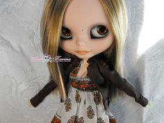OOAK custom Blythe Mia. | Flickr - Photo Sharing!