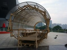 Chinau0027s Bi City Biennale Experiments With Nomadic Architecture