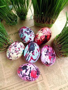 Սուրբ Զատիկ. դիզայններ ինքնուրույն աճեցրած խոտից   Easter, designs with DIY grass