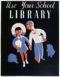 Vintage USA Travel Poster Use Your School Library VUSA028 Art Canvas A4 A3 A2 A1 | eBay