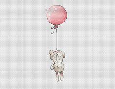 Cross stitch pattern baby girl cross stitch bunny with pink | Etsy Cross Stitch For Kids, Cross Stitch Baby, Wedding Cross Stitch Patterns, Cross Stitch Designs, Pattern Baby, Baby Patterns, Bunny Love, French Knot Stitch, Cross Stitch Tutorial