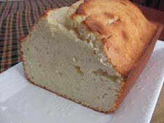 Vanilla Pound Cake ~ Weight Watchers