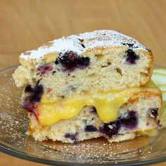 My take on a vintage recipe, including a tender blueberry cake, with a layer of creamy lemon curd in between the layers.  It's just too good to pass up.