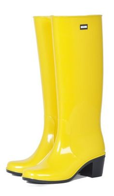 """Женские резиновые сапоги """"Bellina"""". Цвет - желтый. Цена 285 грн, купить в Черниговской области"""