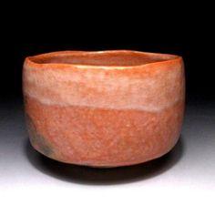 CH4-Vintage-Japanese-Tea-Bowl-of-Raku-Ware-by-Famous-potter-Jyoraku-Suzuki