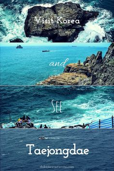 Want to see Korea? Visit Taejongdae in Busan for beautiful cliffside views of the ocean!