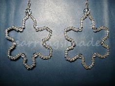 IceFlowers earrings