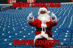 Merry Christmas Braves Country