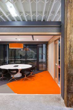 18 best orange office spaces images design offices office spaces rh pinterest com