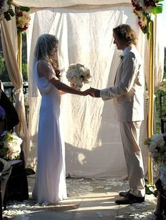 Milla Jovovich - perfect wedding day