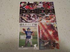 2012 Topps Insert Card Lot Eli Manning Vincent Jackson Marques Colston NFL Mint   eBay