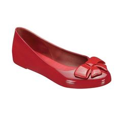 Wanting Flats In Red