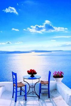 To know more about Greece Patio in Santorini, visit Sumally, a social network that gathers together all the wanted things in the world! Featuring over 270 other Greece items too! Beautiful Places To Travel, Beautiful World, Romantic Places, Vacation Places, Dream Vacations, Italy Vacation, Family Vacations, Romantic Vacations, Romantic Travel