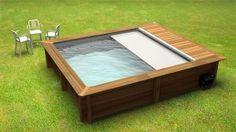 piscine hors sol bois urban pool
