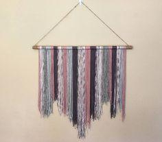 Handcrafted Yarn Wall Hanging Boho Wall Hanging Yarn Wall