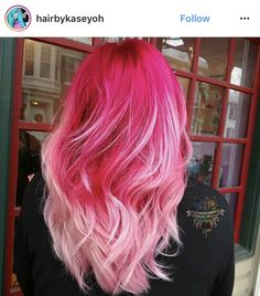 There's a fire in your smile, let me watch for a while😍💋💥🌙 Hair Dye Colors, Cool Hair Color, Pink Hair, Pastel Hair, Hair Heaven, Alternative Hair, Hair Color Highlights, Coloured Hair, Bright Hair