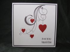 Valentine card Valentine greeting cards blank by kraftedbyjak