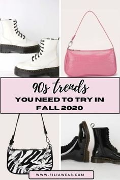 Looking for some outfit inspirations for fall? Then take a look at this head to toe outfits inspired by the 90s. Shop the biggest 90s trends that are back in style in 2020. From Tie-Dye Trend, Denim Overalls, Chunky Sneakers, Combat Boots, Plaid Shirt, Mom Jeans to Trendy Bucket Hats, Mini Bags and so much more! Perfect back to school outfit ideas! 90s Outfit Ideas | Grunge Outfits | Fall Outfits 2020 | #cuteoutfits #falloutfitsforschool #fallcasualoutfits #90sfashionoutfits