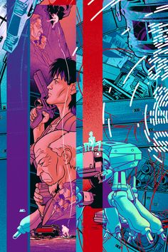 ghost in the shell poster - Buscar con Google