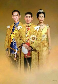 AUFKLEBER Sticker THAILAND Thai King Bhumibol KÖNIG orange