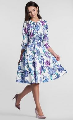 e7eea6e404 Sukienka EBONY Midi Flavia Dotyk Lata