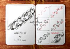 """Lily's Tangles: My new pattern: """"Andante"""""""