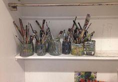 brushes & jars