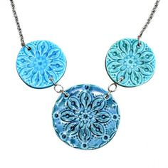 Sand Dollar Trio Necklace