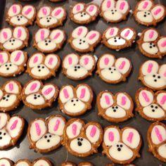Bunny pretzels.