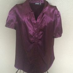 CLEARANCE~ Royal Purple Dressy Top This is gorgeous on and can be dressed up or down for any occasion. Very flattering with curves. Apt. 9 Tops