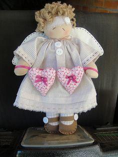 Desejo Craft: Anjinha linda!
