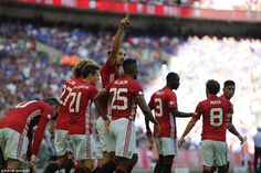 Manchester United 2-1 Leicester City: Ibrahimovic nets winning goal