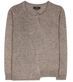 Isabel Marant - Calgary wool, yak and cotton sweater - Isabel Marant's Calgary sweater has been crafted in Italy from a cosy blend of wool, yak and cotton. The knitted style comes in an easy-to-wear relaxed fit and is versatile in its dark grey hue. We love the uneven stitching for a raw look – work yours with denim off duty. seen @ www.mytheresa.com