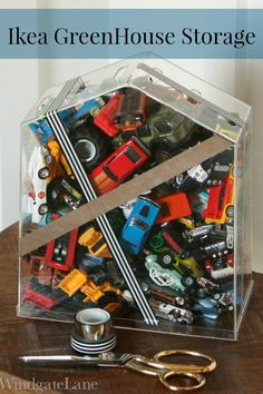 Ikea Hack! Matchbox Car Storage - Windgate Lane