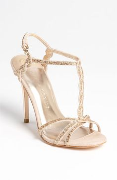 Ivanka Trump 'Hara' Sandal available at Nordstrom | love the twisting of the t-strap style.