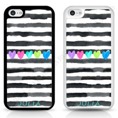 STRIPES-PAINTED-HEART-PERSONALISED-CUSTOM-PHONE-CASE-COVER-FOR-IPHONE-SAMSUNG