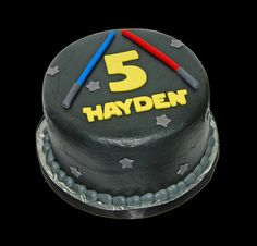 5th Birthday cake for a family Star Wars celebration by Simply Sweets, via Flickr