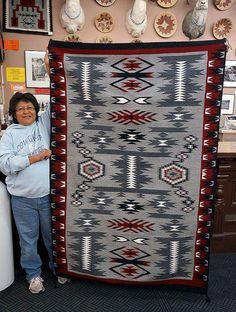 Annille Bahe Native American Rugs, Native American Symbols, Native American Beauty, Native American Crafts, Native American Beadwork, American Indian Art, Native American History, Native American Indians, Navajo Weaving