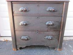 CUSTOM  Vintage small dresser three drawer by OverboardStudio, $365.00