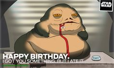 Ate Your Birthday Present