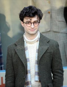 Dan Radcliffe looking adorable as Allen Ginsberg in Kill Your Darlings