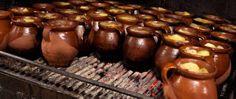 El famoso cocido madrileño de La Bola.