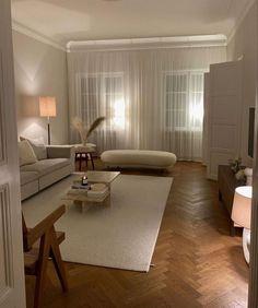 Home Living Room, Apartment Living, Living Room Designs, Living Room Decor, Living Spaces, Bedroom Decor, Cheap Apartment, Danish Living Room, Bedroom Ideas