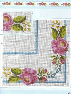 Bargello, Le Point, Bed Covers, Table Linens, Stitch Patterns, Diy And Crafts, Cross Stitch, Bullet Journal, Kids Rugs