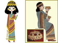 Queen Assursarrat, Assurbanipal's wife, is my assyrian girl