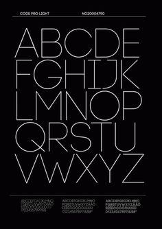 Free font - Code Pro