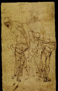 Study for a Flagellation, 1459, Andrea Mantegna