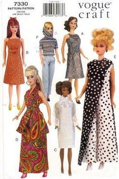 Vogue Craft 7330 Doll Pattern Vogue http://www.amazon.com/dp/B00607LSKS/ref=cm_sw_r_pi_dp_5tJbub094EX1B